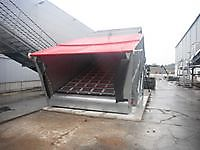 Compost storage hopper
